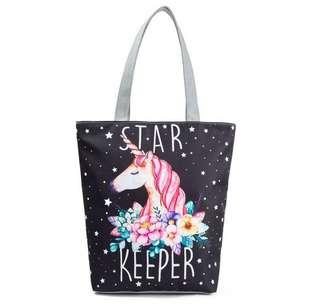 🦄 Unicorn Tote Bag for Ladies Girls
