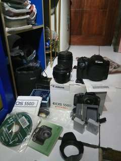Camera canon eos 550d dslr