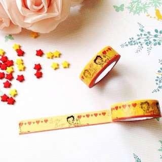 #ramadan50 Washi tape | Betty Boop