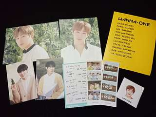 Wanna One innisfree goods / Ha Sungwoon innisfree goods