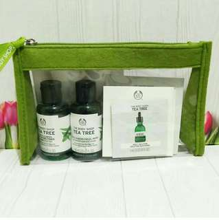 Body Shop Tea Tree Kit