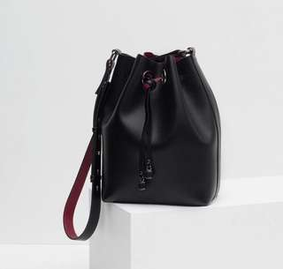 Zara Black Bucket Bag