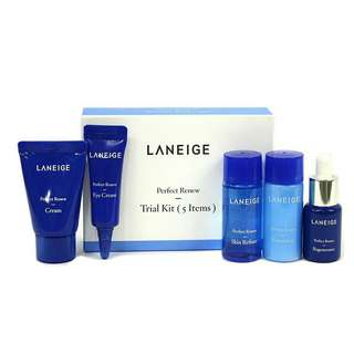 [READY STOCK] Laneige Perfect Renew Trial Kit (5 items)