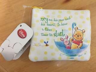 Disney Pooh coin bag