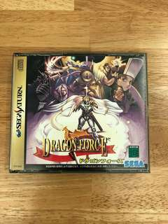 Sega saturn games dragon force retro gaming