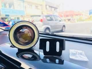 foglamp car auto fog angel eye