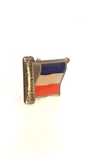 France Singapore Airshow 2016 Feature  Country Collar Pin