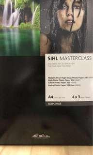 SIHL masterclass art paper