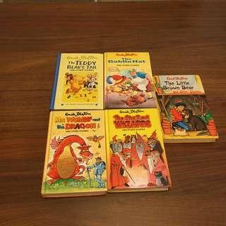Enid Blyton books $10