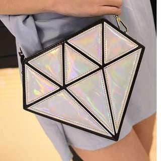 Korean Diamond Sling Bag