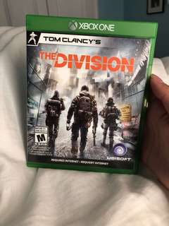 XBOX ONE: Tom Clancy the Division