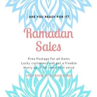 Ramadhan Sales!!