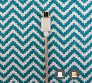 PLUCK: Easy Disconnecting Magnetic Cable