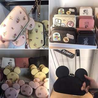 Disney x Coach 銀包