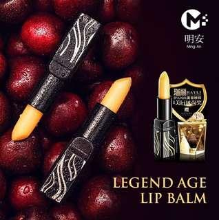 Legend Age Cherry Lip Balm -100% Authentic