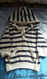 H&M hoodie 4-6M EUC