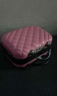 Beauty case mitsuto pinky (kotak makeup)