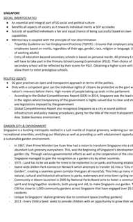A LEVELS GENERAL PAPER NOTES (topical content for essays, compre & AQ pointers, Singapore issues)