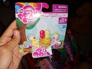 My Little Pony Friendship is Magic Collection Apple Flora & Candy Caramel Tooth