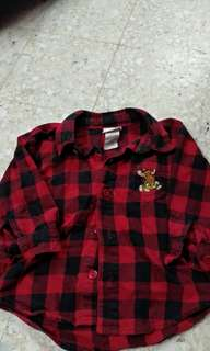 Fannel shirt red