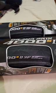 Tyre Continental Grand Prix 4000sII 25 mm 700c set of two