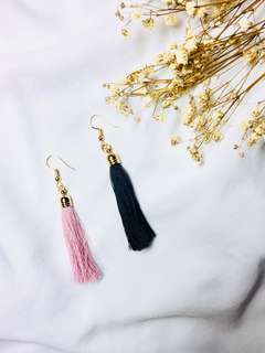 Handmade Jane tassel earrings