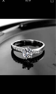 Brand new diamond solitaire ring