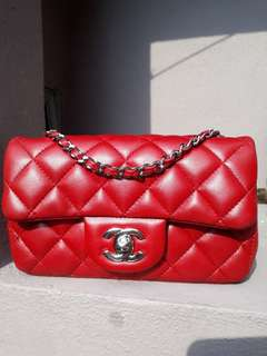 Chanel Red Extra Mini