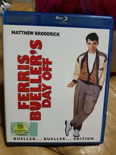 Ferris Bueller's Day Off Blu Ray Matthew Broderick