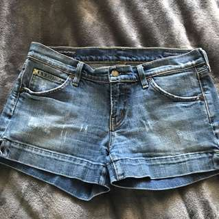 Citizens of humanity jean shorts size -30 ( fits small I'm normally a 28)