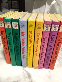 Enid Blyton storybooks and general knowledge book