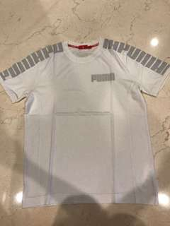 Kaos puma putih