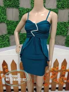 Sexy mini dress tosca spandex