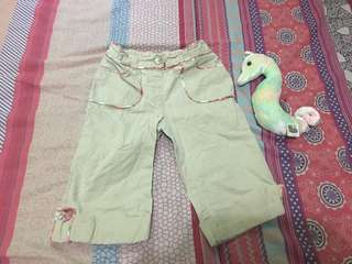 Preloved baby girl pants size 18 to 24 months.