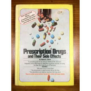 Prescription Drugs and Their Side Effects by Edward L. Stern (Hardcover)