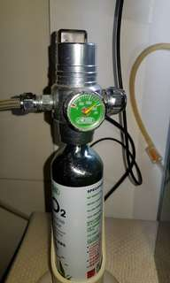 Ista disposable co2 with solenoid