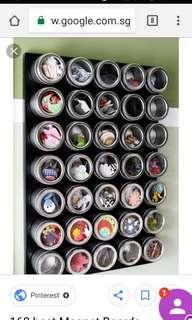 Magnet tins
