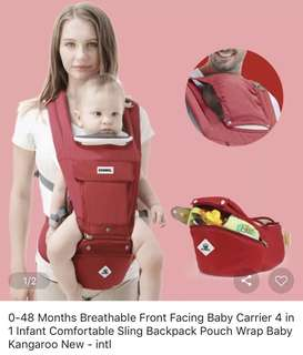 4 in 1 Baby Carrier (0-48 months)