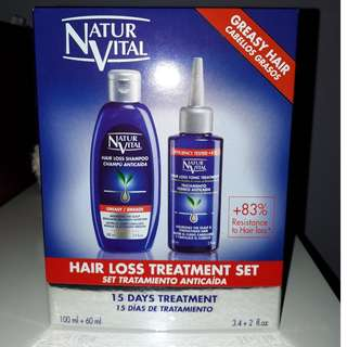 NaturVital Hair Loss Treatment Set