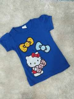 Girl tshirt hello kitty