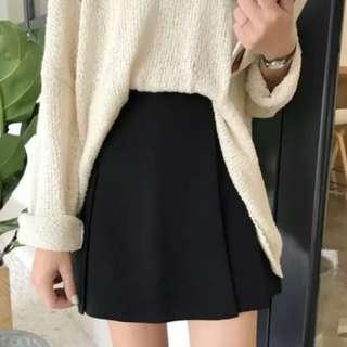 黑色短裙褲裙