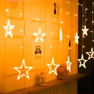 [USB & Battery-operated] Hoppipolla Star-Shaped String Light