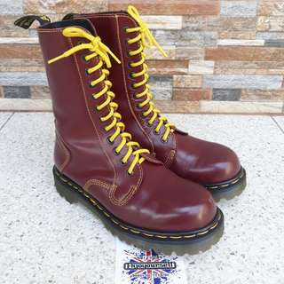 Dr Martens 9114 40th Anniversary 6uk Made in England Used Like New