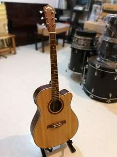 New Acoustic Guitar With Pick Up Cut Away design