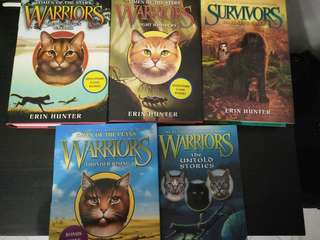 Erin Hunter Books