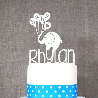 Birthday Cake Topper for Babies