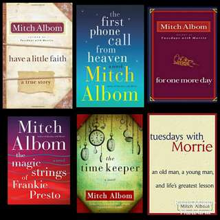 FREE MITCH ALBOM EBOOKS!