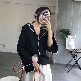 🚚 [PO] Outlined Shirt