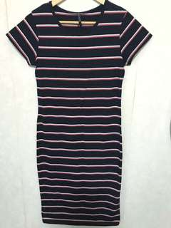 Cotton on bodycon t shirt dress 短袖貼身裙