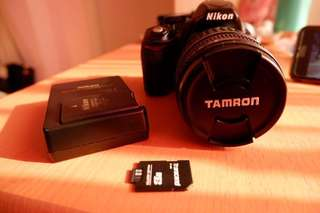 Nikon D3100 Body and Tamron 18-200mm Lens